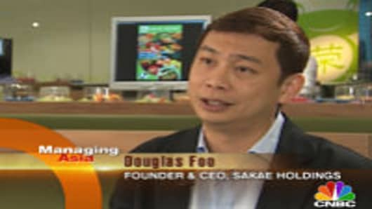 Sakae Holdings Founder and CEO Douglas Foo