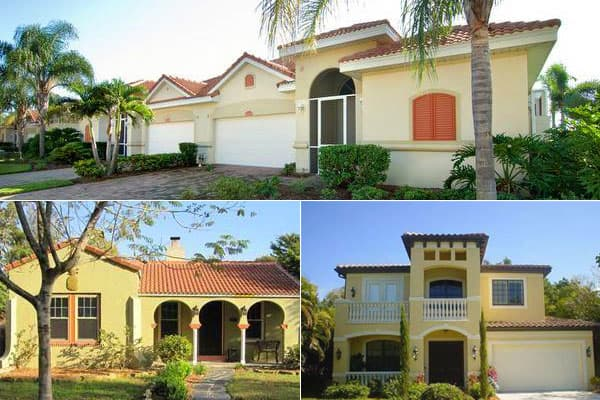 """Median Home Price: $118,000Decline Since 2006 Peak: -54% The fifth of Florida's five entries is Fort Myers, coming in at No. 2 on the list. The median home price here has dropped 54 percent from its peak of $258,000 in the second quarter of 2006. There are over 5,400 homes for sale, plus 3,200 foreclosures, according to Trulia. The """"City of Palms,"""" as it is known, is in southwestern Florida, slightly inland but located on the Caloosahatchee River. It's a popular destination for deep-sea fishing,"""