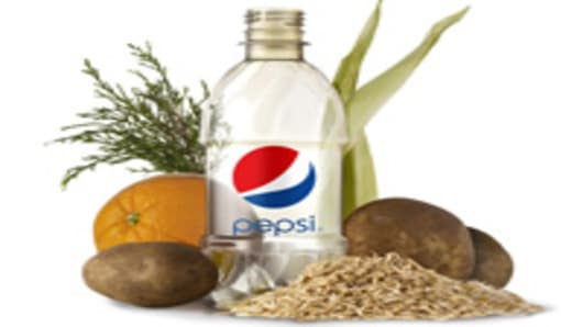 Pepsico's New Plant-Based Bottle