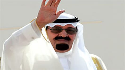 Saudi King Abdullah bin Abdul Aziz al-Saud