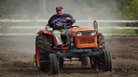 Phil Jones has been a farmer for ovr 20 years.