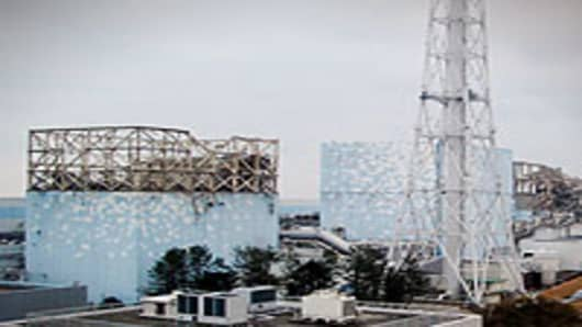 Fukushima nuclear power plant shown on March 15, 2011.