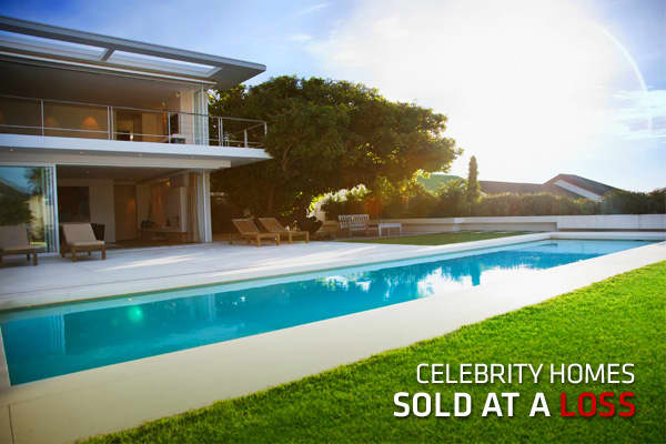 "You might think celebrities are immune from the pains of the real estate market but in fact, many of them have taken a hit.There are quite a few celebrity homes on the market that have had , though many of them would still make a profit if they sold at the current list price today. But there are others who, for one reason or another, have had to sell their homes at a loss.""Celebrities aren't exempt from today's national real-estate trends,"" said Candice Cerro, a spokesperson for  and . And, they"