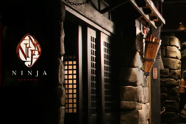 "Location: New York, New York Price: Imagine ninjas serving your Japanese/French/American fusion cuisine in a private nook of a subterranean feudal Japanese castle. You enter via through a dark path beset with armed ""ninjas."" Ninja's signature dish for two to share is the Katana, which is Angus steak teriyaki, fried risotto and Alaskan king crab with a tomato mango sauce topped with white sauce and cheese. Bottom line: Ninjas."