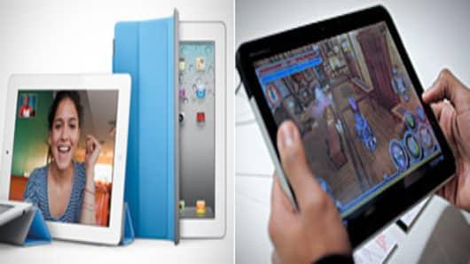 Apple iPad 2 and Motorola Xoom
