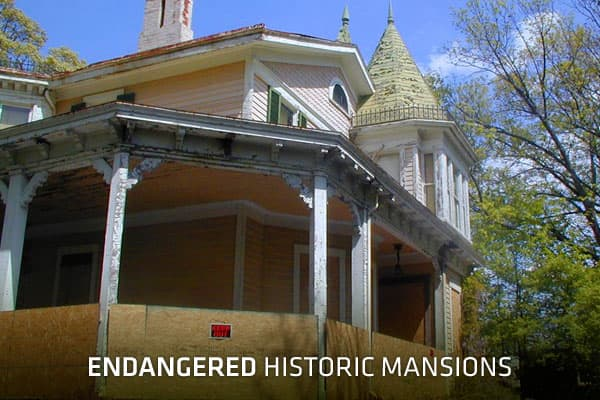 A mansion's former grandeur and its historic significance are often not enough to save it from deteriorating beyond repair, or from a date with the wrecking ball. Preservationists may rally and circulate petitions, but it often boils down to cost—not just to purchase a troubled estate, but to restore it. Even when mansions of a certain age do have owners keen on preservation, the structures and their grounds have massive upkeep costs. For example, the owners of the circa-1896  in Oradell, NJ say