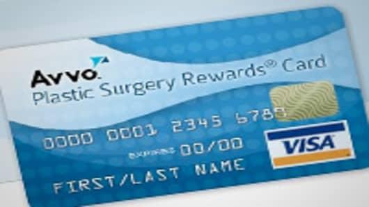 Plastic surgery rewards card