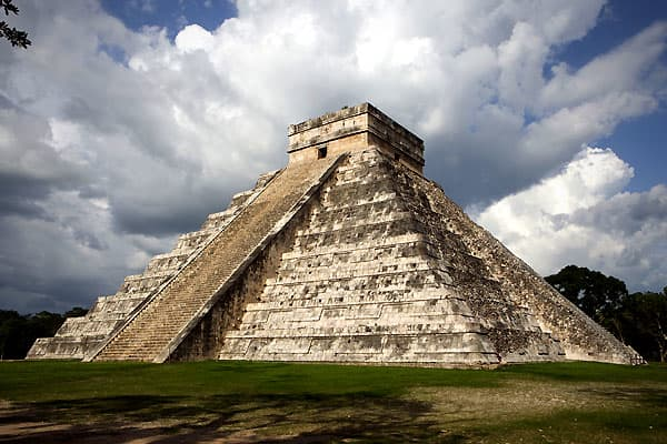 The ancient Mayan civilization – once an empire whose sphere of influence stretched from Central Mexico to Guatemala – is widely known for its advanced calendaring system. Originating as far back as the 5 century B.C.E., the calendar ends on December 21st, 2012. The mystery-shrouded meaning of this date has served as fodder for doomsday prophets worldwide. But before you run out wearing your cardboard sign necklace, note that the collapse of ancient Mayan civilization was reportedly self-inflict