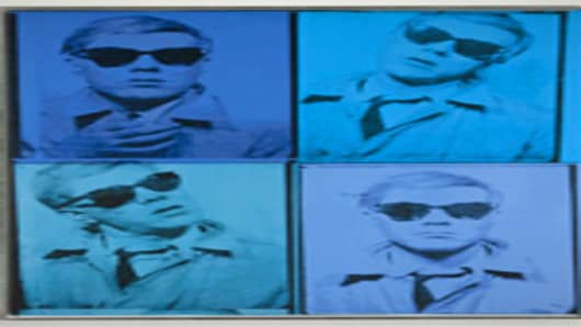 "Andy Warhol's ""The Birth of Cool"" Self Portrait"