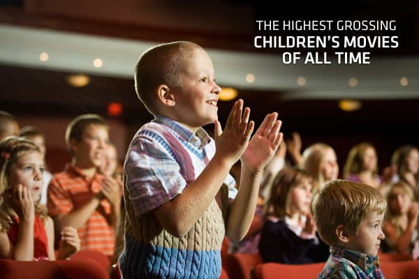 April hasn't been a great month at the U.S. box office. Among the new movies were remake s of the 1981 comedy Arthur and Your Highness, a comedy starring Natalie Portman. Both films opened in wide release with lots of publicity, and they both disappointed at the box office. However, the animated feature Hop, which opened in first place the prior weekend, held the top spot again. It just goes to show, family films are solid business. So, what are the highest grossing children's films of all time?