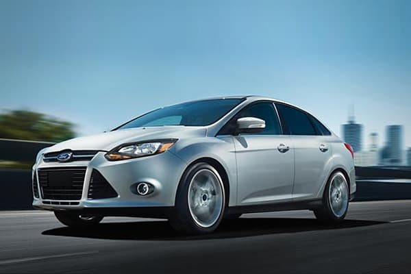 Gas mileage: 31 mpg (28 city/38 highway) The 2012 Ford Focus makes it on the list because of its mpressive fuel economy, excellent handling and well-outfitted interior, European styling and the availability of features like Ford's Sync entertainment and communications system. There is also an option to equip the Focus with Ford's auto-park feature, says KBB.com.