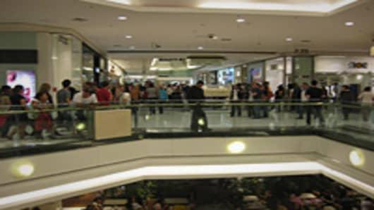 Mall in Sao Paolo, Brazil
