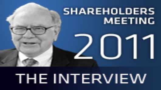 Berkshire Shareholders Meeting 2011: The Interview