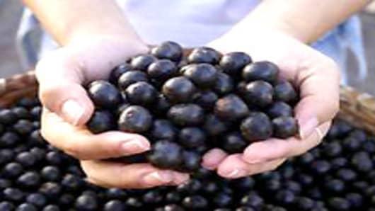 Allergic reaction acai berry