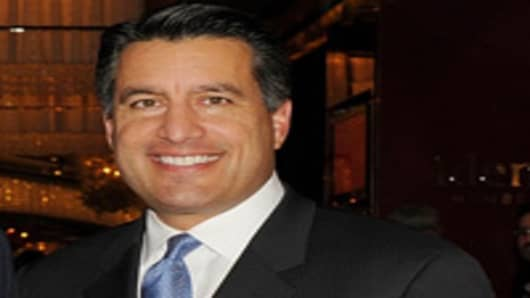 Governor of Nevada Brian Sandoval