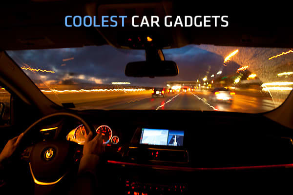 Some auto features are far from standard and are not available as options, so drivers who want ever more futuristic (or simply cool) touches are taking matters into their own hands using specialized gadgets.The following ten products, chosen by Al Carlton of  run the gamut from purely frivolous to innovative and time-saving to downright creepy. Click on ahead to inspect these gadgets.