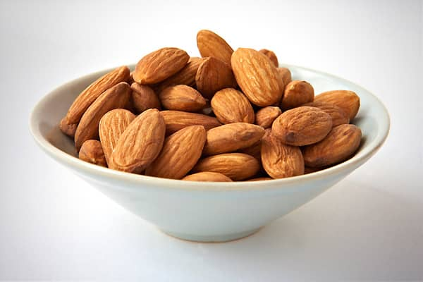 "— High in protein and monounsaturated fats — Avg. weekly store sales in 2010: $159 Almonds are the most popular nut in America, partly because they are seen as diet-friendly. They are high in protein, making them a popular choice for consumers seeking nutritious snacks. While they are high in fat, it's mono-unsaturated fat, which is considered the ""healthy"" fat. Some research suggests that almonds help lower bad cholesterol. In addition, they are high in vitamin E and magnesium, providing heart-"