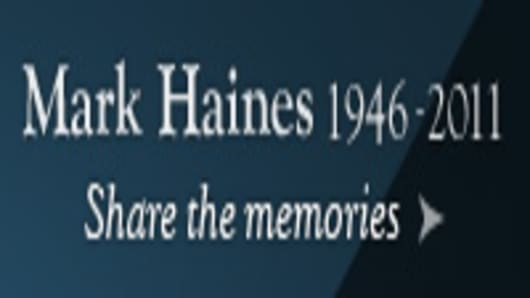 In Memoriam: Mark Haines