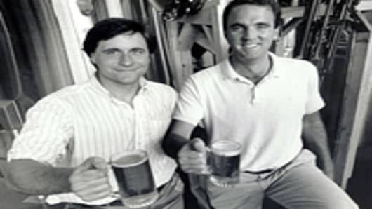 Rich Doyle (left) and Dan Kenary in 1986.