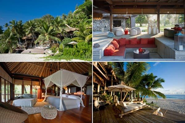 Location: North Island, the SeychellesPrice per night: approx. $4,800 per person Size: 4,890 square feet