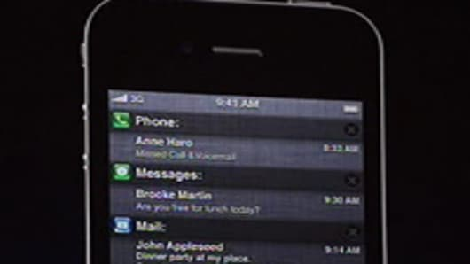 iPhone Notification Center