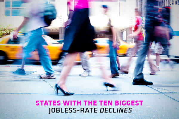 There's growing impatience about subpar job creation as well as stubbornly high unemployment, even as the economy recovers. After months of improvement, the national jobless rate has moved sideways recently, stuck around 9 percent.On a state level, the picture is mixed. According to the Bureau of Labor Statistics, 42 states and the District of Columbia reported jobless rate decreases between May 2010 and April 2011. Only five states registered increases, while there were three unchanged. More t