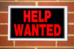 Help Wanted Sign Comes With Frustrating Asterisk