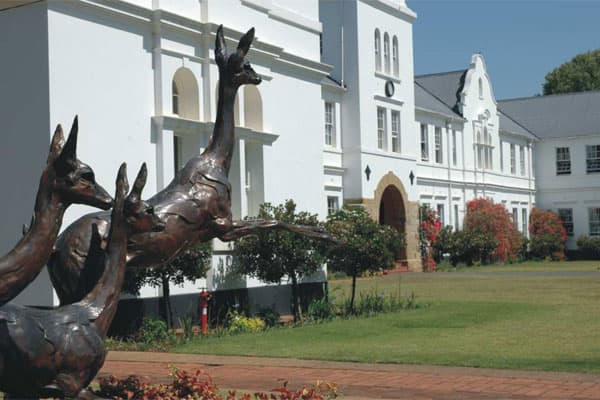 Most Expensive:  Hilton CollegeAnnual Tuition: $25,614Students in Private School: 2.5%South Africa has a long tradition of all-boys boarding schools that were established in the 1800s by Dutch and British missionaries. But only 2.5 percent of South African students were enrolled in private schools, as of 2007.Founded in 1872, Hilton College (pictured) is South Africa's most expensive private boarding school. Located in the eastern KwaZulu-Natal Midlands, the school has about 400 students and sit