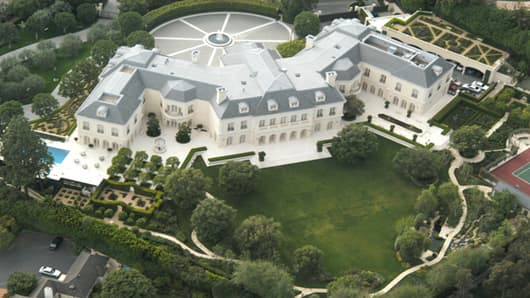 Priced at $150 million, Candy Spelling's Holmby Hills mansion is on the market.