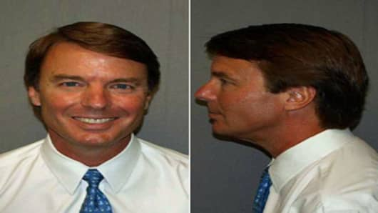 John Edwards Mugshot