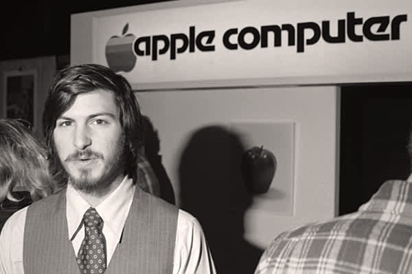 """Jobs is famously known for dropping out of college after only one semester. After he left, he ended up travelling to India in search of spiritual enlightenment and returned to the United States as a Buddhist with a shaved head. During this time, Jobs also experimented with psychedelic drugs. He is quoted in the 2005 book  by New York Times reporter John Markoff as saying his LSD experiences were """"one of the two or three most important things I have done in my life."""" Jobs, pictured at left in 197"""