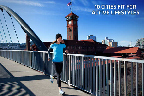 When it comes to resources for the physically active, not all US cities are created equal. Some have more parks and bicycle lanes than others. Some are blessed with perfect climates. Some are situated next to national parks. And some simply have a lot of gyms. But what they all have in common are attributes that encourage people to get outside and stay active.Click ahead to see some of the cities that are havens for physically active Americans.