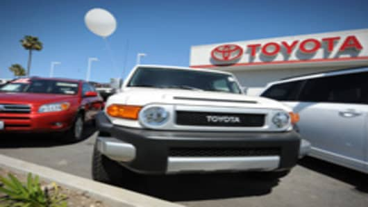 Toyota dealership in Torrance, California