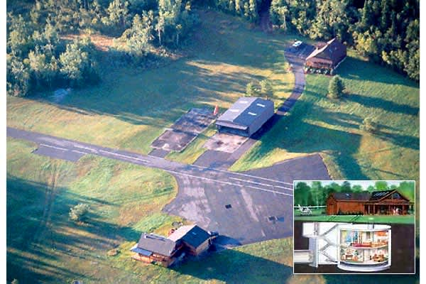 Location: Everywhere—though you'd never know it.In recent years, decommissioned underground defense bunkers have enjoyed a renaissance as nontraditional homes. For some underground bunker-dwellers, making their new home is a DIY project. Others might buy a bunker right off the real estate market, such as  or .There's even a company that specializes in selling missile bases called 20 Century Castles, with properties ranging from $260,000 to the one pictured here, which is $4.6 million.  is in ups