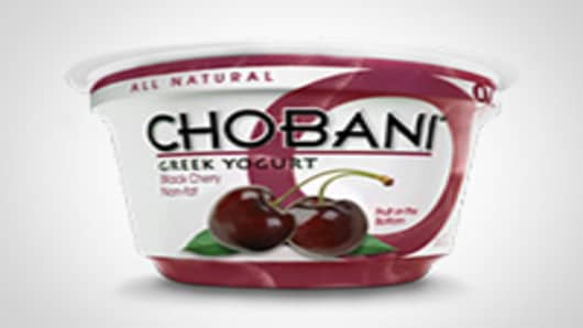 Chobani Black Cherry Greek Yogurt