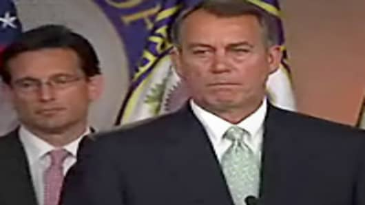 Boehner, Cantor