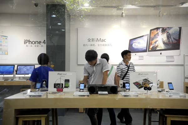Recently, the  in several Chinese cities sparked controversy both in China and the U.S. The fake  store, which was uncovered by the , had similar signage, layout and even salespeople as real Apple stores. However, BirdAbroad picked out several key details not common among true Apple stores and correctly pointed out the stores as fake. The stores claimed to have real Apple products, but were not licensed or operated by the company. Quickly following the public uproar—which included  in question d
