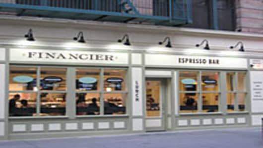 Financier Patisserie in Lower Manhattan