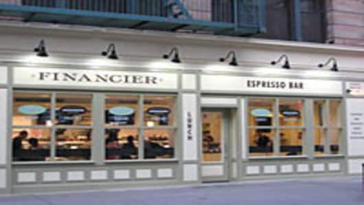 Financier Patisserie in Lower Manhattan