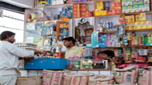 Rural shop, Ration Shop, Grocery Store, Provisional Store, in Delhi, India.