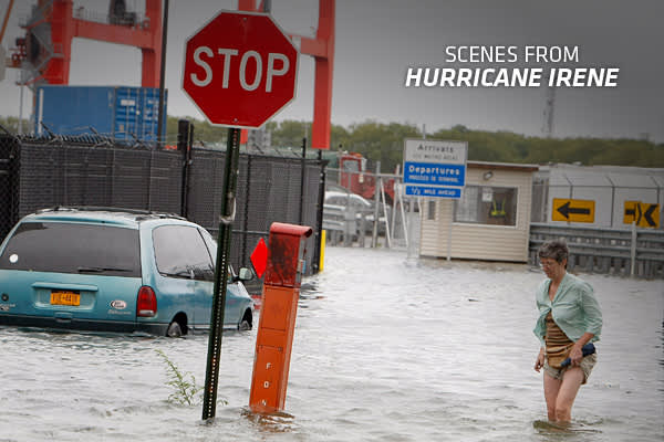 So far in 2011, the storm of the Hurricane season is Irene, a category 2 hurricane that is expected to affect the Eastern US  The storm has already passed through the Carribean, causing widespread damage while the Eastern US prepares for landfall. The entire eastern seaboard is being told to expect high winds and flooding as a result of the storm, although the resulting damage is anyone's guess. CNBC.com will be updating this slideshow with fresh images of the storm as they come in, illustrating