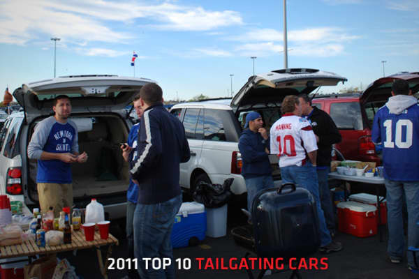 "For a huge population of sports enthusiasts, tailgating season (known to the rest of the world as ""autumn"") is the most wonderful time of the year. There are numerous givens when we speak of tailgate celebrations. Frosty adult beverages will be plentiful and will possibly be consumed in new and creative ways. Whether the food is catered or homemade from treasured family recipes, it's going to be the opposite of healthy. It, too, will be plentiful. All men, women, children, dogs, and accessory pe"