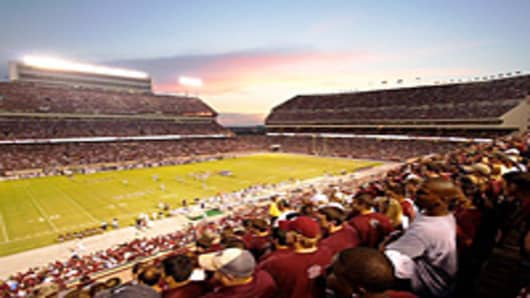 Texas A&M Aggies vs. Montana State Bobcats college football game at Kyle Field