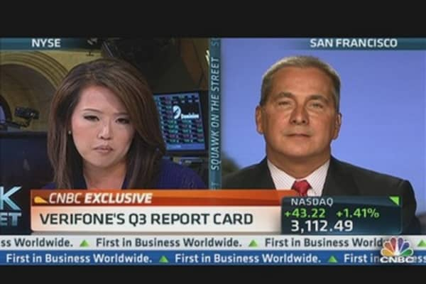 VeriFone CEO Defends Growth Plans As Stock Falls
