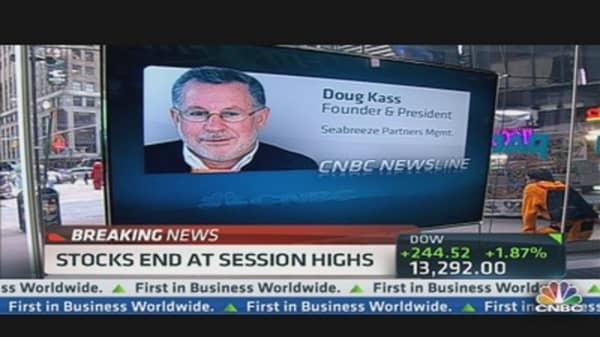 Doug Kass: 'Euro Experiment Going to Fail'