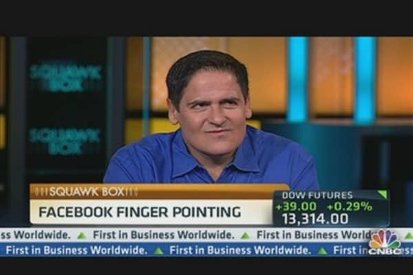 Facebook Finger Pointing