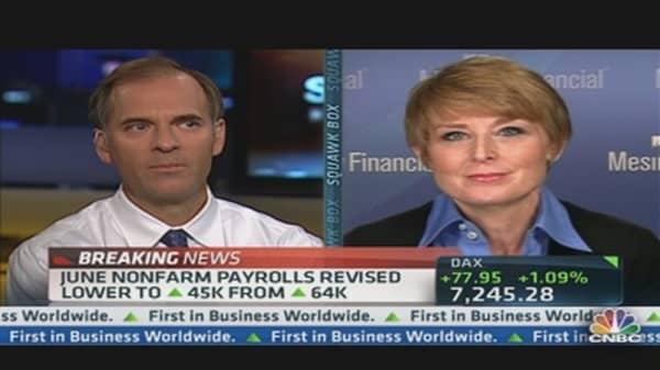 August Nonfarm Payrolls Up 96,000