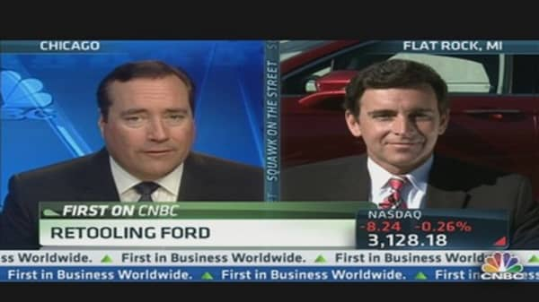 Retooling Ford For the Future