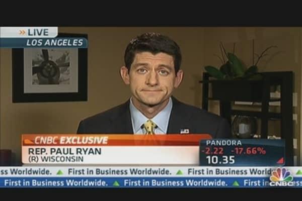 Ryan Blames Obama For 'Tepid' Jobs Number