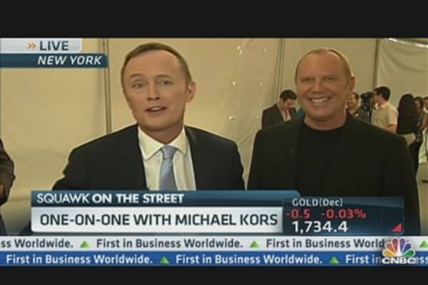 Michael Kors Wraps Fashion Week With Color